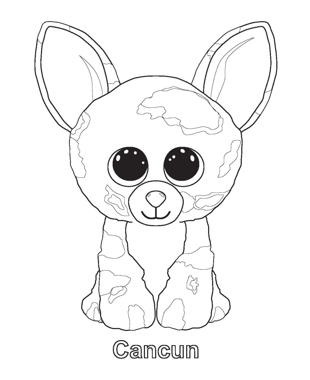 Coloring Pages ~ Beanie Boo Coloring Pages Lionbeanie Printable Dog - Free Printable Beanie Boo Coloring Pages