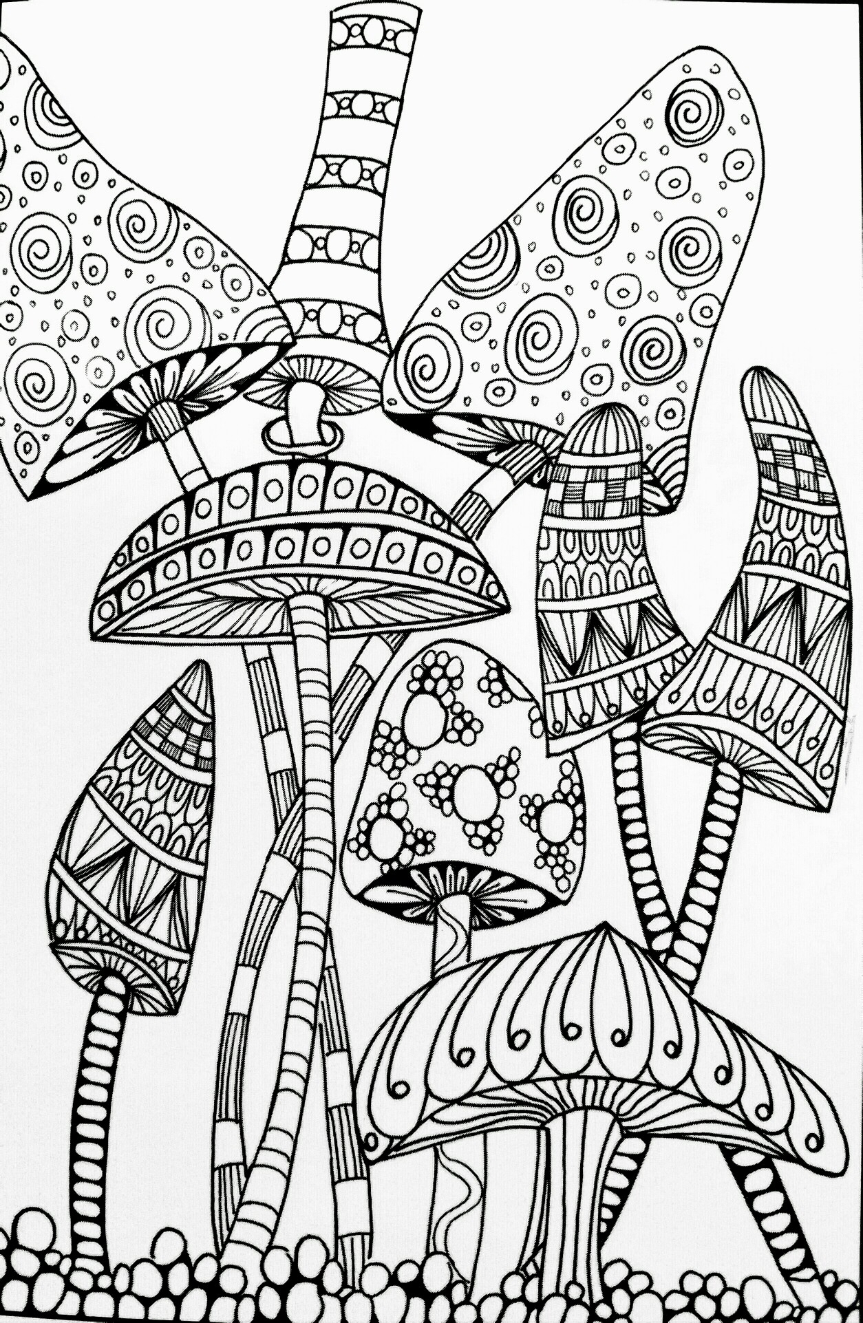 Coloring Pages ~ Cartoon Dragon With Mushroom Coloring Page Free - Free Printable Mushroom Coloring Pages