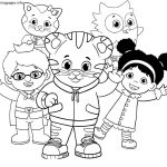 Coloring Pages ~ Coloring Pages Daniel Tiger Image Ideas Pbs Kids   Free Printable Daniel Tiger Coloring Pages
