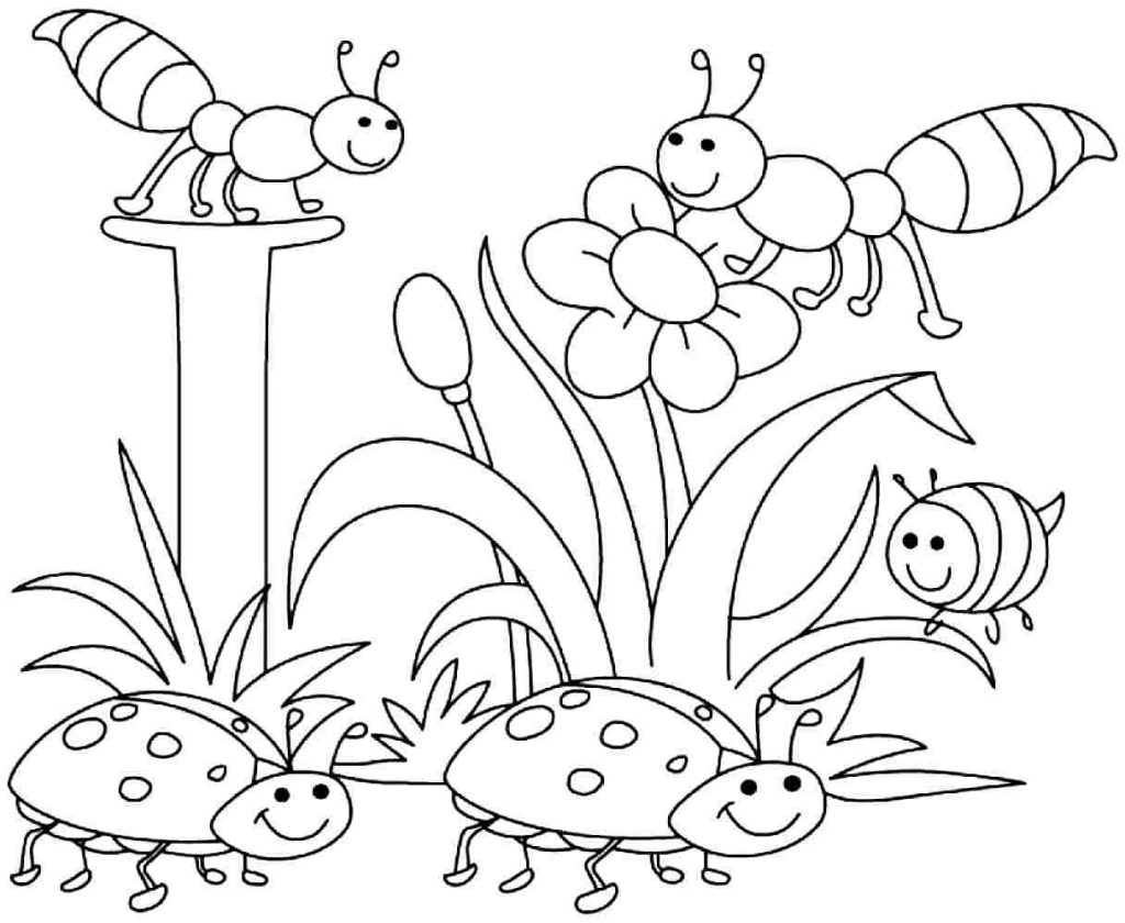 Coloring Pages ~ Coloring Pages Free Printable Spring For - Spring Coloring Sheets Free Printable