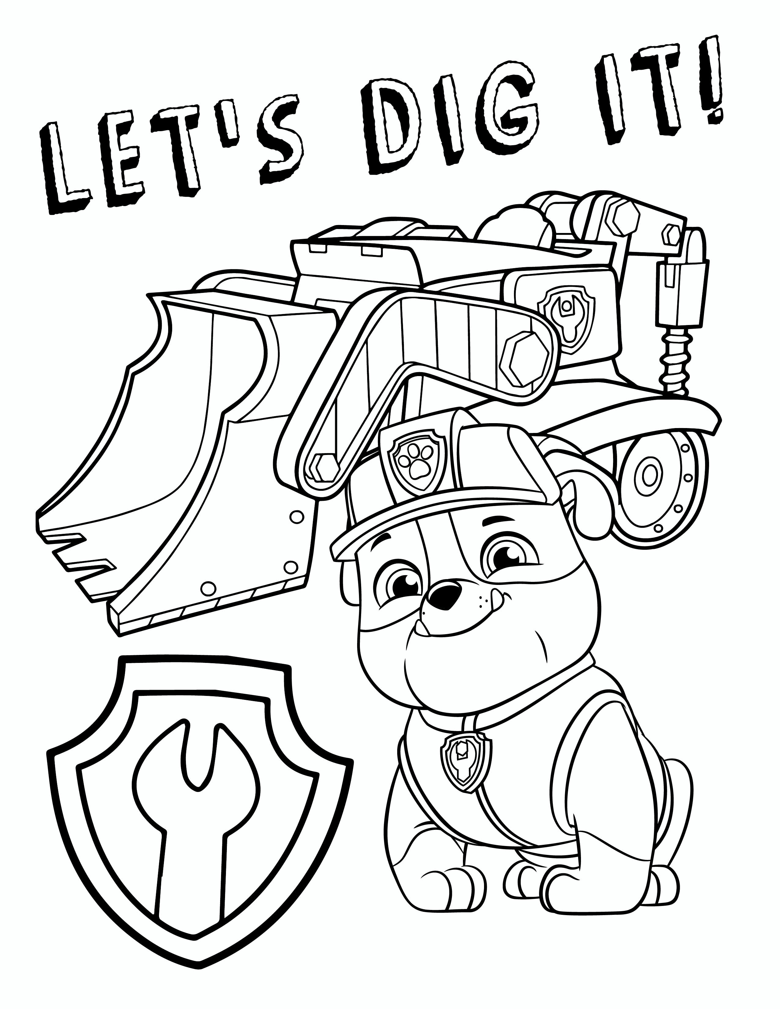 Coloring Pages : Coloring Pages Paw Patrol Free Sheets Printable Of - Free Printable Paw Patrol Coloring Pages