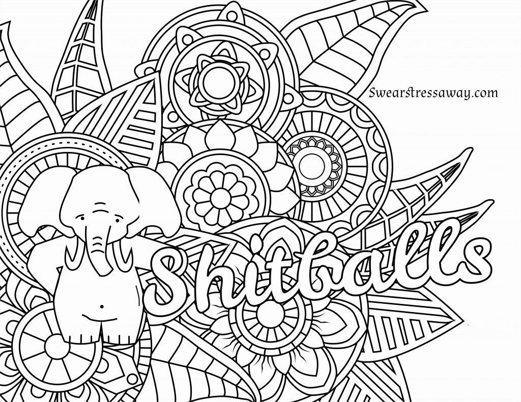 Coloring Pages ~ Coloring Pages Printable Adults New Free Swear Word - Swear Word Coloring Pages Printable Free
