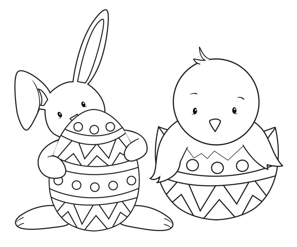 Coloring Pages ~ Coloring Pages Printable Easter Free For Kidskids - Easter Color Pages Free Printable