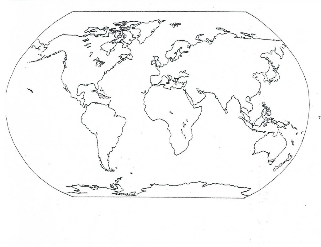 Coloring Pages ~ Coloring Pages World Map Printable Page For Kids - Free Printable Maps For Kids