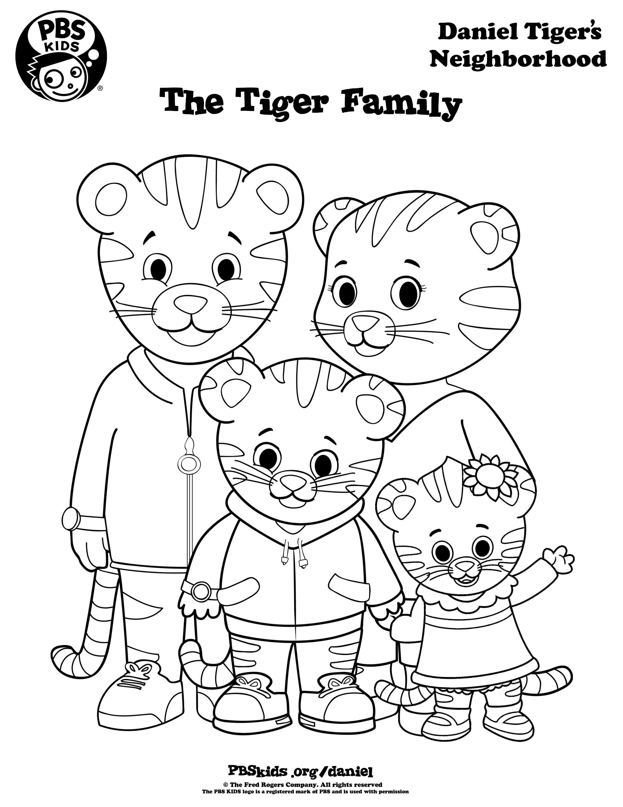 Coloring Pages ~ Daniel Tiger Coloring Pages Image Ideas Baby - Free Printable Daniel Tiger Coloring Pages