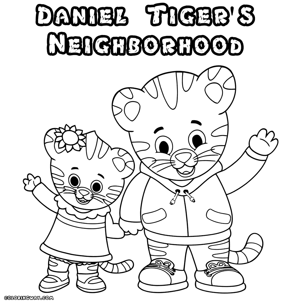 Coloring Pages ~ Daniel Tiger Coloring Pages Printable Freeniel - Free Printable Daniel Tiger Coloring Pages
