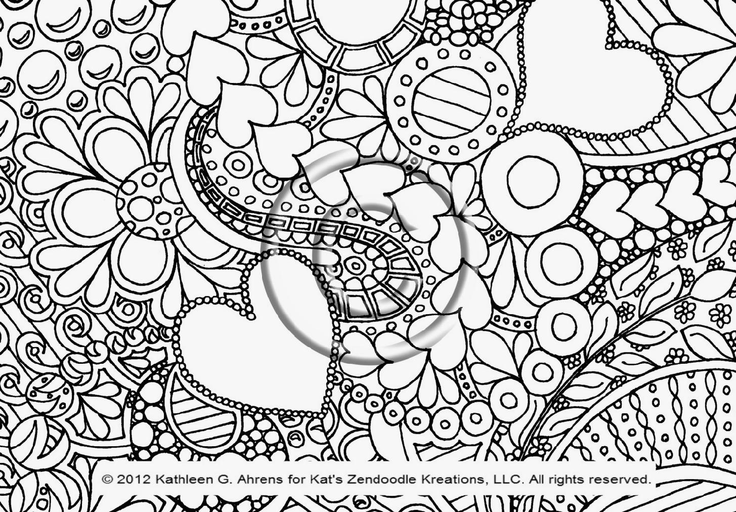 Coloring Pages : Doodle Art Coloring Pages Csad Me Free Maryeit - Free Printable Doodle Art Coloring Pages