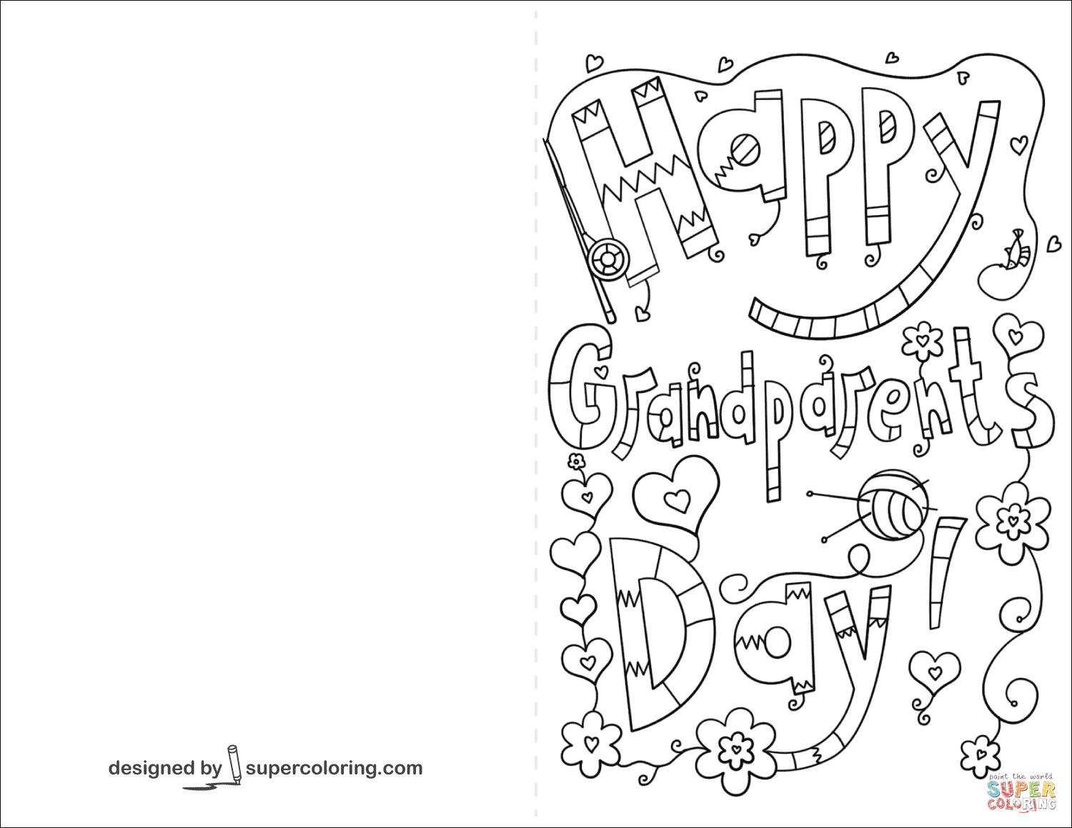 Coloring Pages ~ Fathers Day Colorings For Grandpa Grandfather Uncle - Grandparents Certificate Free Printable