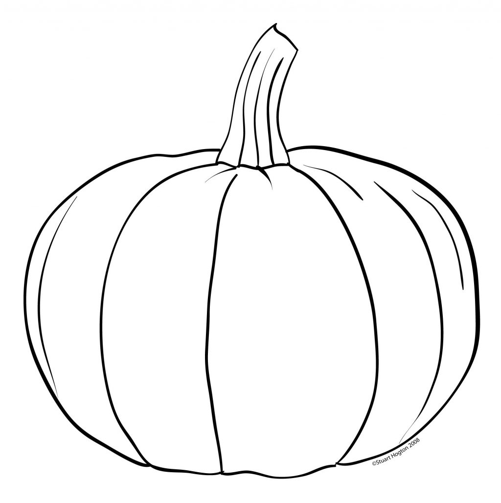 Coloring Pages ~ Free Jack O Lantern Coloring Pages Highest Outline - Pumpkin Shape Template Printable Free