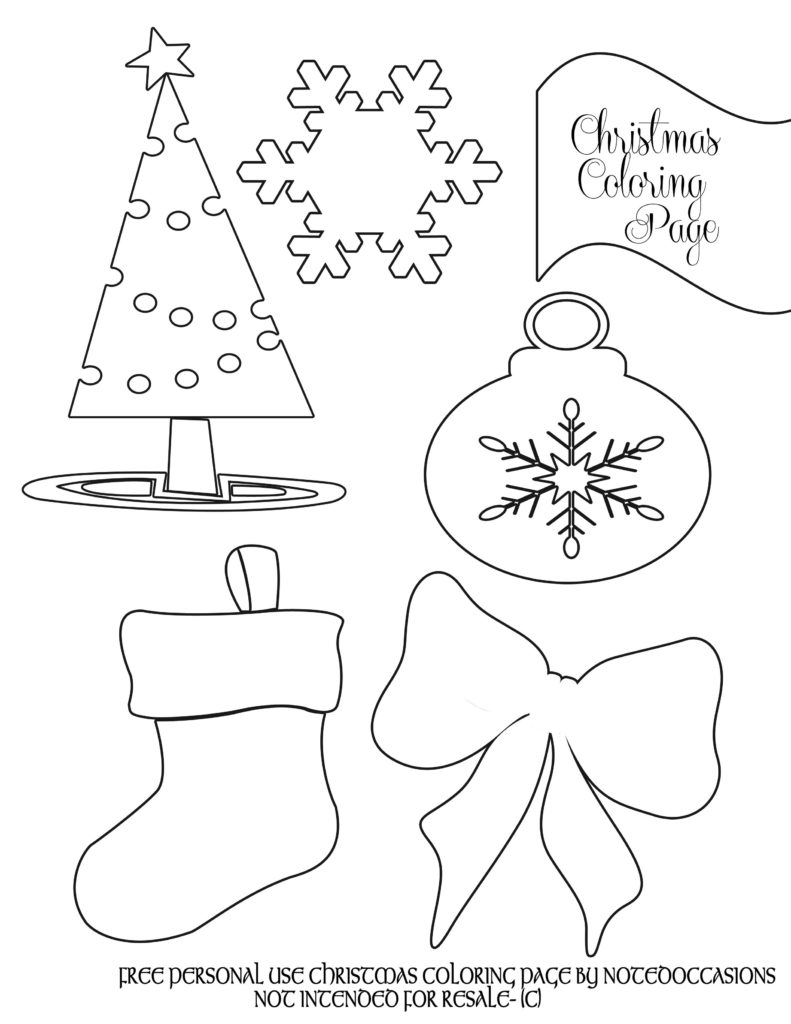 Coloring Pages : Free Printable Christmas Coloring Pages For - Free Printable Christmas Books For Kindergarten