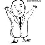 Coloring Pages : Free Printable Colorings For Martin Luther King Jr   Martin Luther King Free Printable Coloring Pages