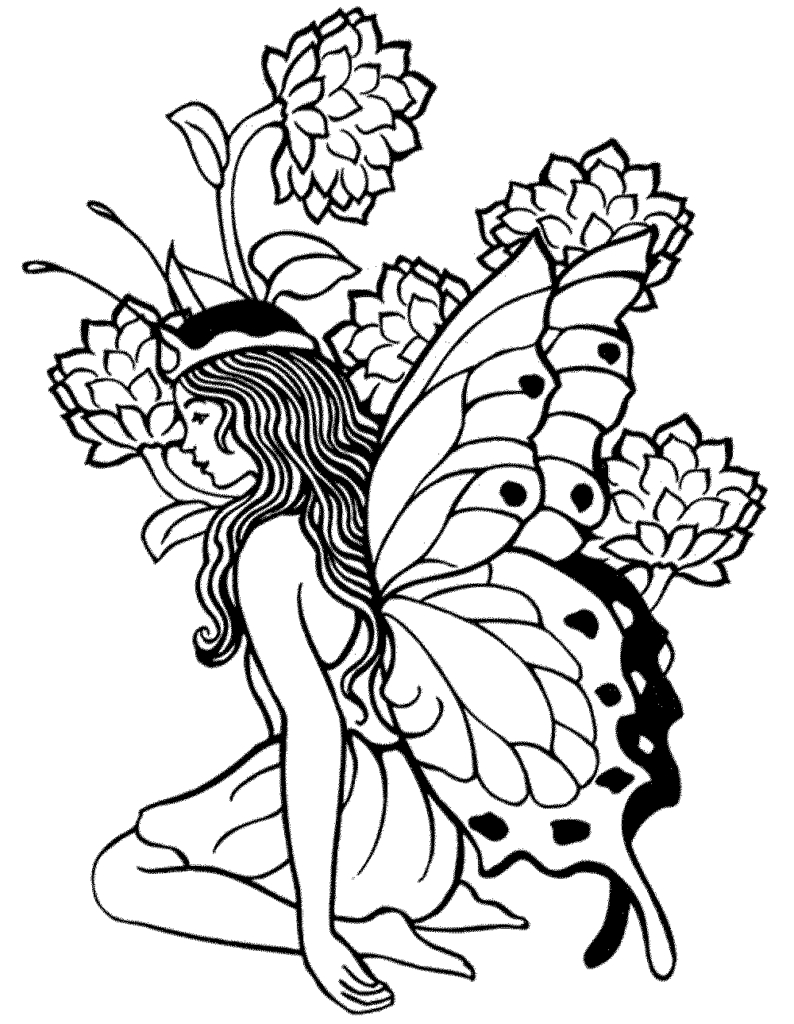 Coloring Pages : Incredible Detailed Colorings Printable Photo Ideas - Free Printable Coloring Pages Fairies Adults