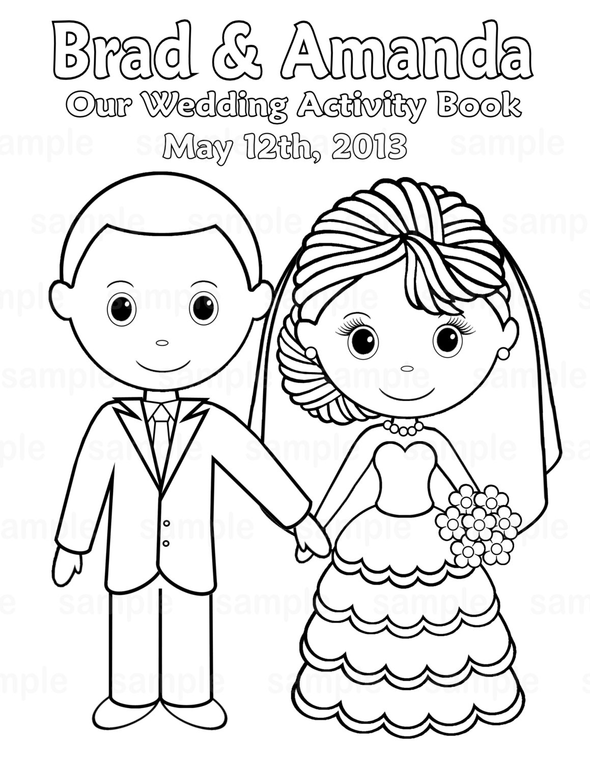 Coloring Pages : Kidsing Coloring Book Fantastic Pdfkids - Wedding Coloring Book Free Printable