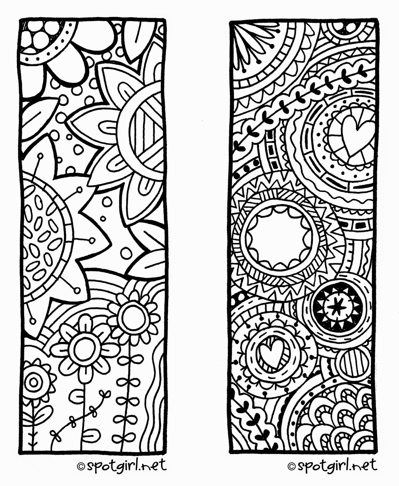Coloring Pages: Marvelous Coloring Bookmarks For Kids Picture - Free Printable Bookmarks To Color