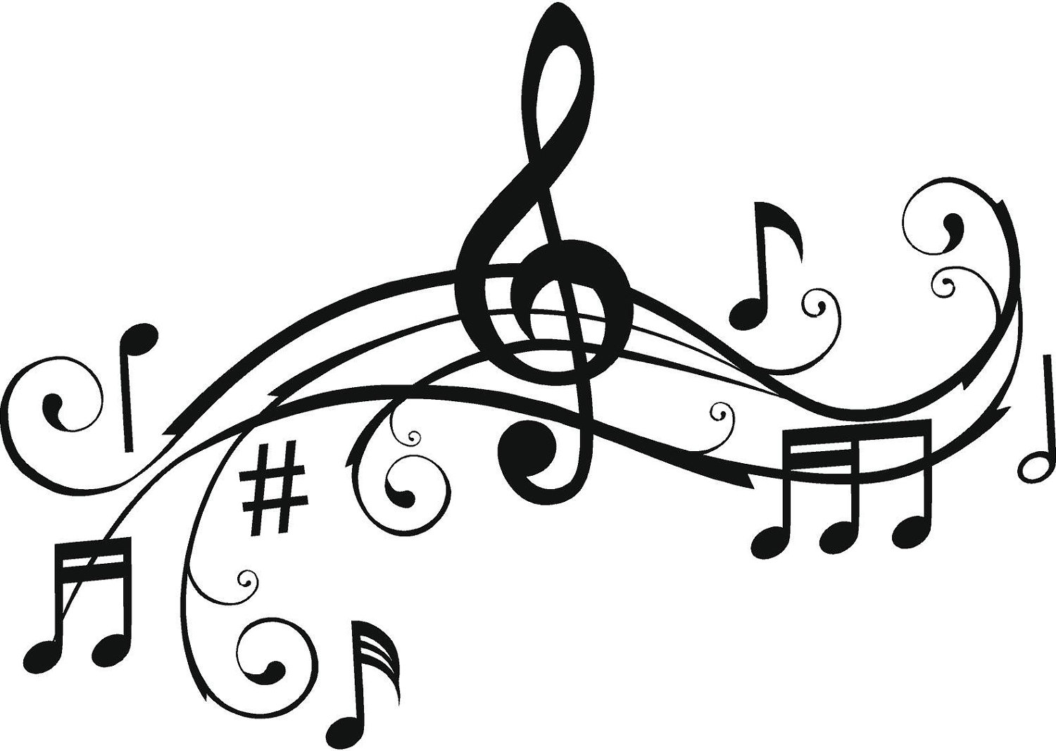 Coloring Pages ~ Music Notes Coloring Pages Exclusive Symbols - Free Printable Pictures Of Music Notes