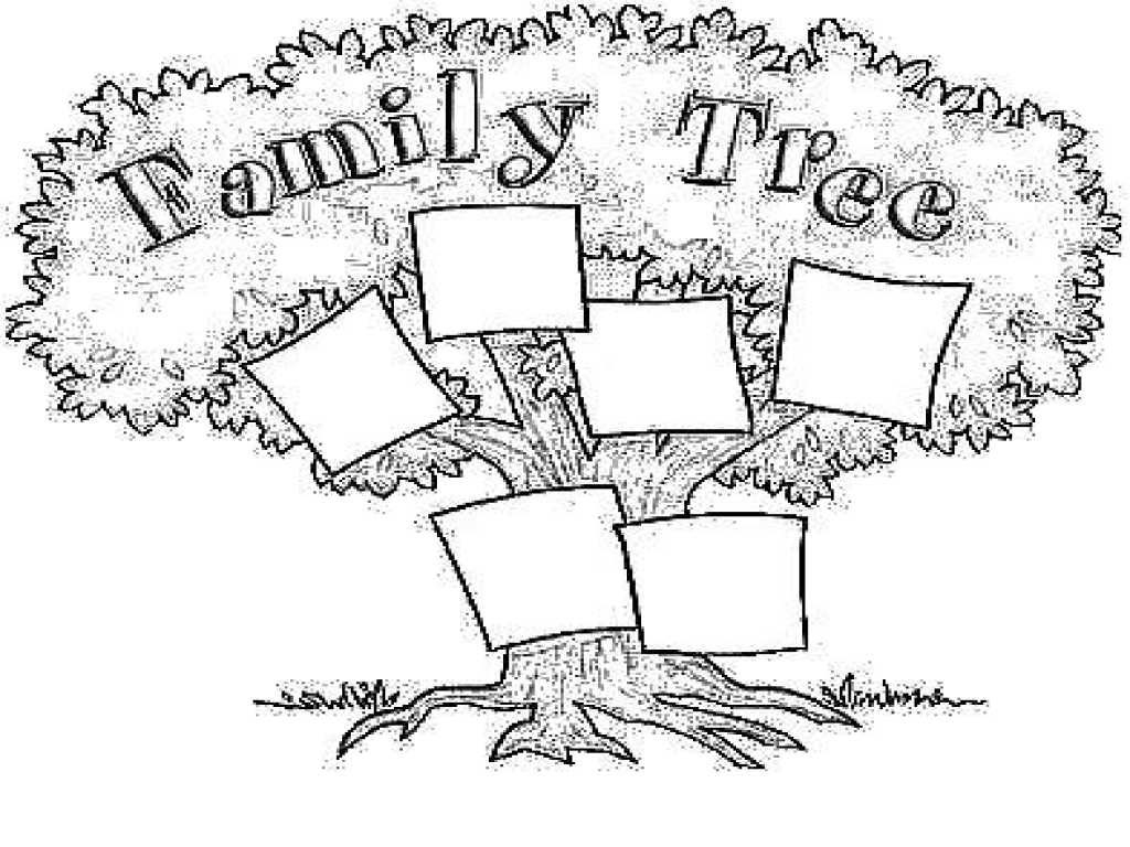 Coloring Pages ~ My Family Tree Free Printable Worksheets Or - My Family Tree Free Printable Worksheets