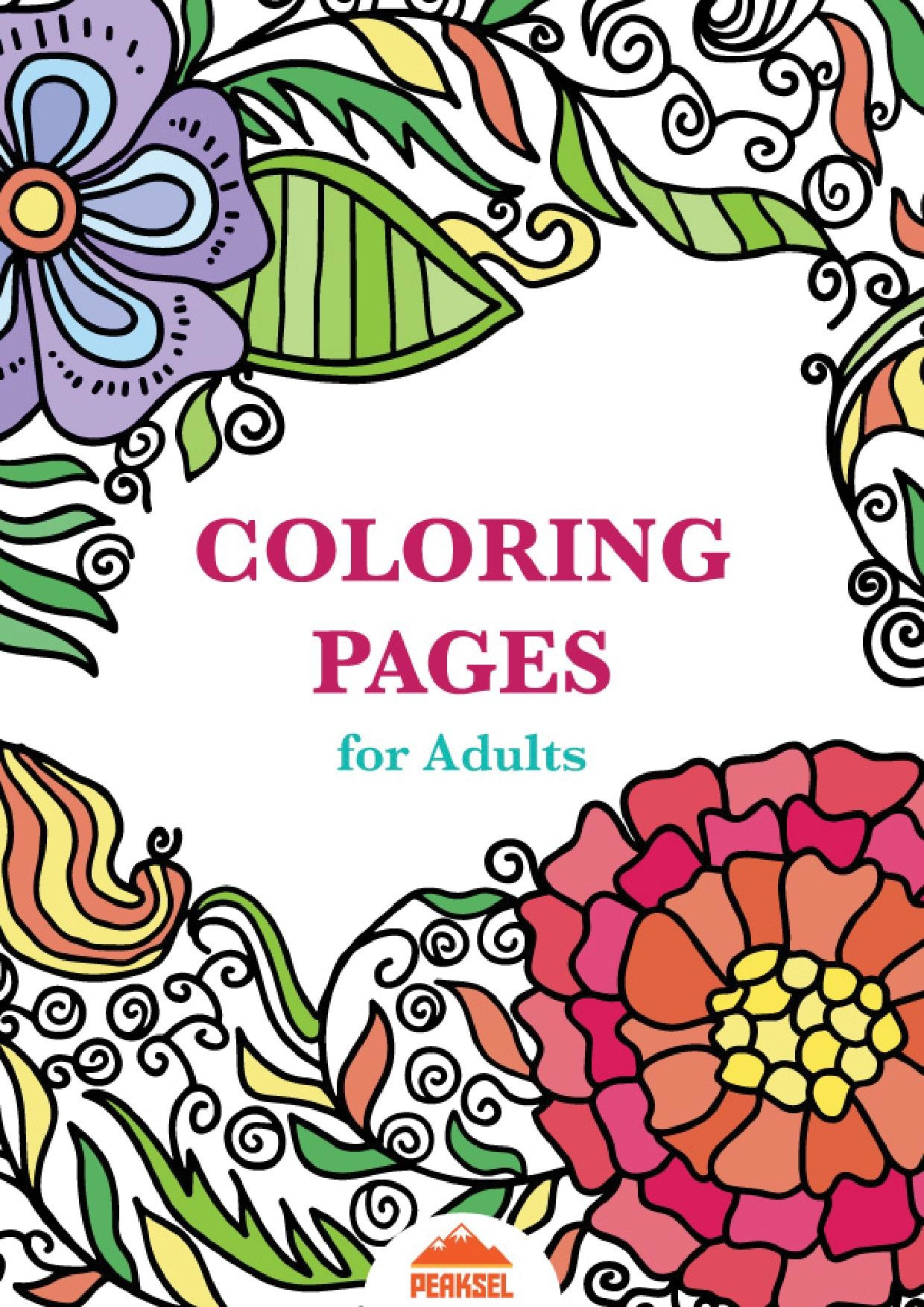 Coloring Pages : Page1 1240Px Printable_Coloring_Pages_For_Adults_ - Free Printable Coloring Books Pdf