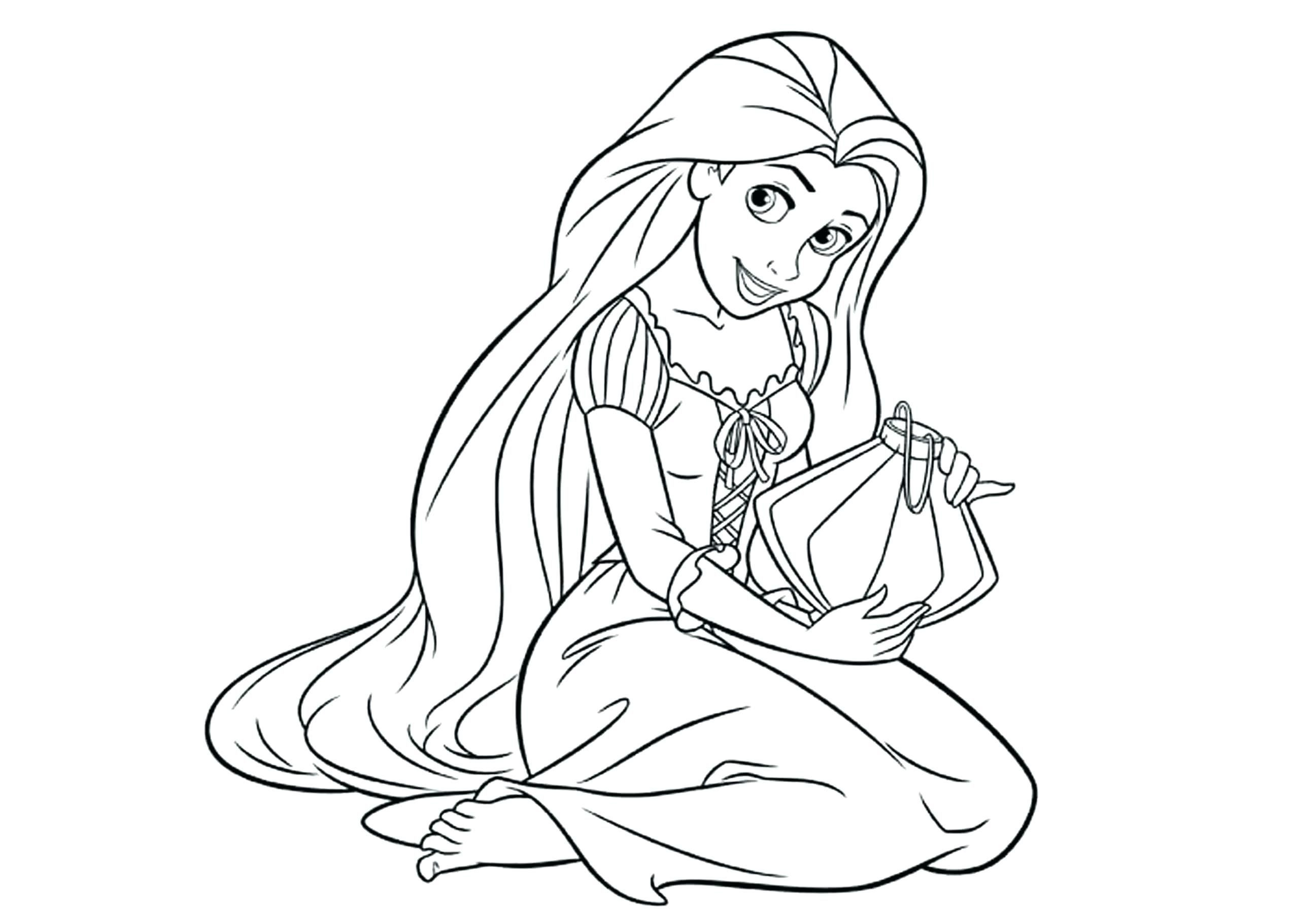 Coloring Pages : Preschool Princess Coloring Sheets - Free Printable Princess Coloring Pages