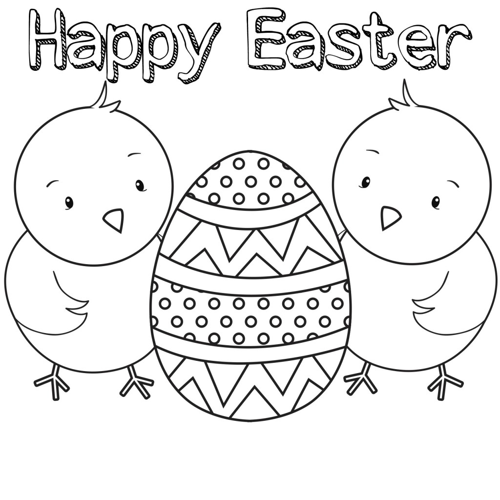 Coloring Pages : Printable Easter Sunday Colorings For Kids Pdf Eggs - Free Printable Easter Pages