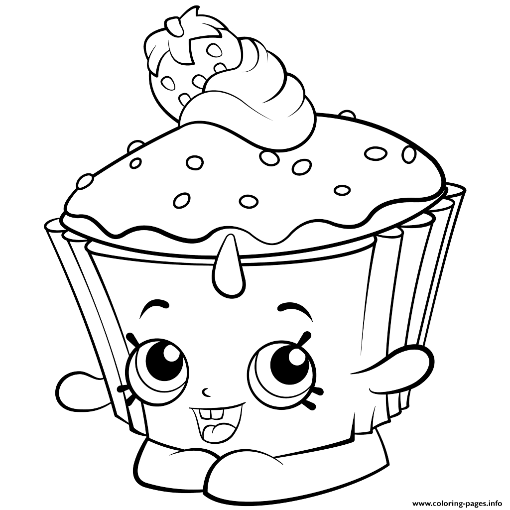 Coloring Pages ~ Shopkins Coloring Pages Colouring Free Printable - Free Coloring Pages Com Printable