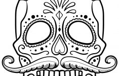 Coloring Pages ~ Skull Coloring Pages Free Printable Sugar Adult 54 – Free Printable Sugar Skull Coloring Pages