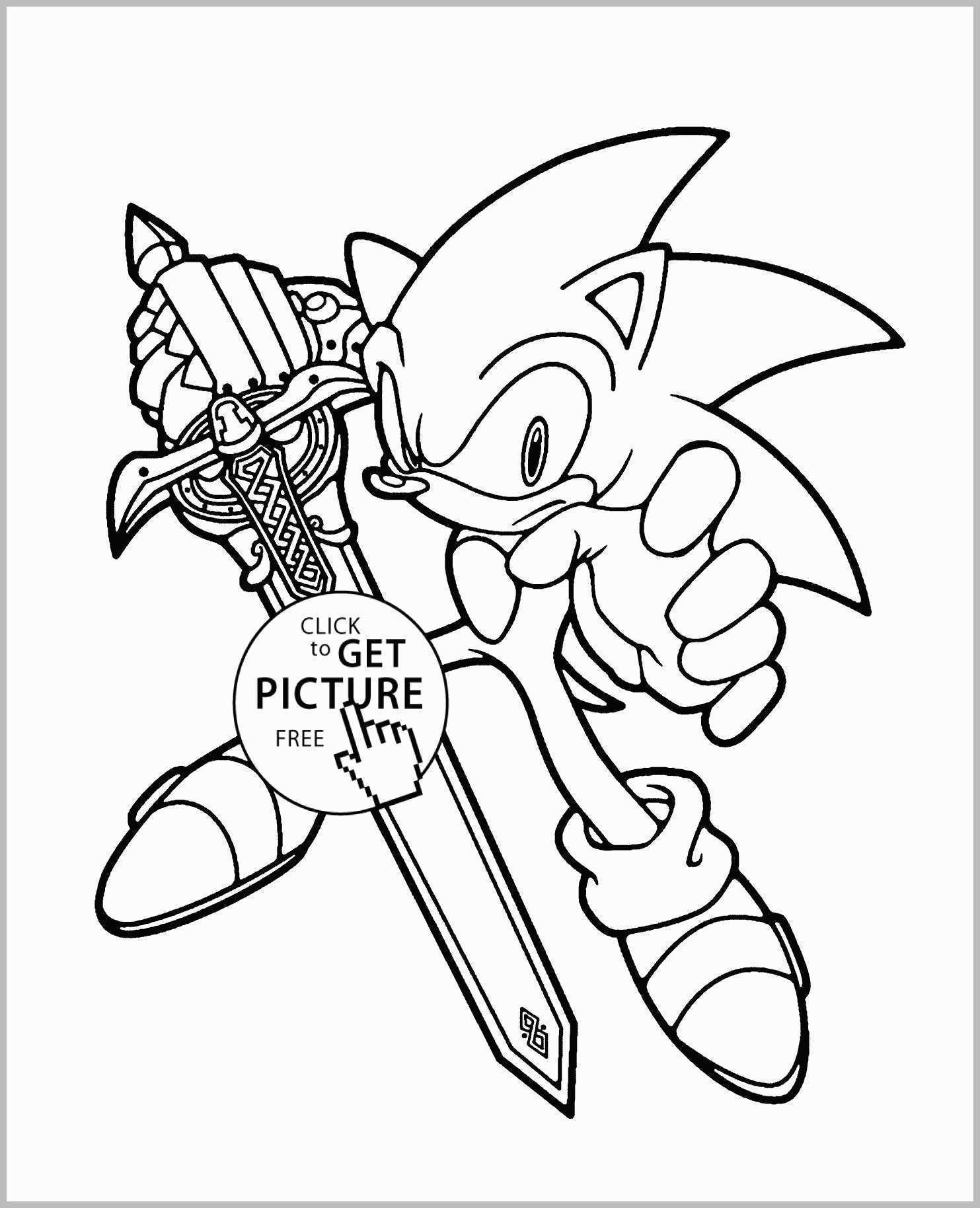 Coloring Pages : Sonicng Book Pages Unique Free Printable The - Sonic Coloring Pages Free Printable