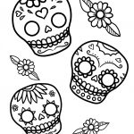 Coloring Pages: Stunning Free Day Of The Dead Coloring Pages Image   Free Printable Day Of The Dead Worksheets