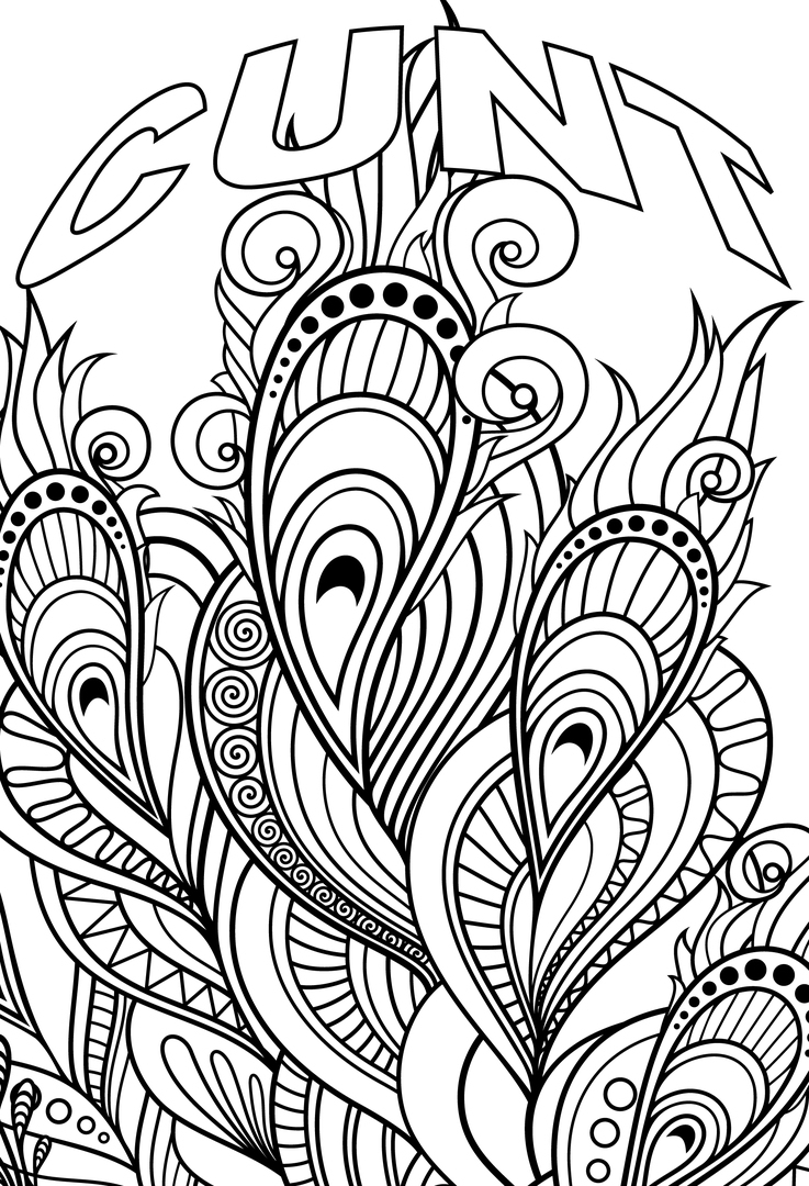 Coloring Pages ~ Swear Word Coloring Pages Best For Kids Fabulous - Free Printable Swear Word Coloring Pages