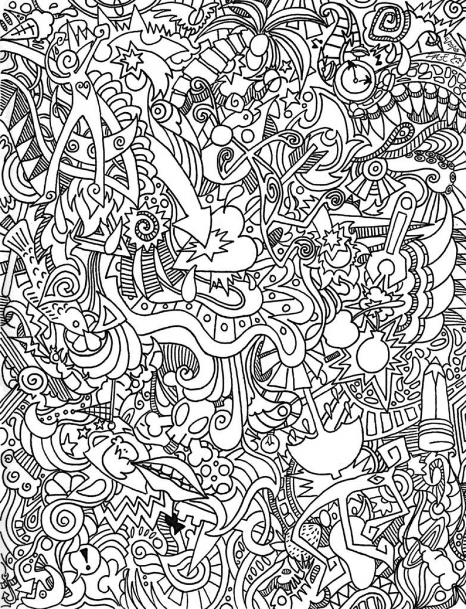 Coloring Pages : Trippy Coloring Pages Picture Ideas For Adults Free - Free Printable Trippy Coloring Pages