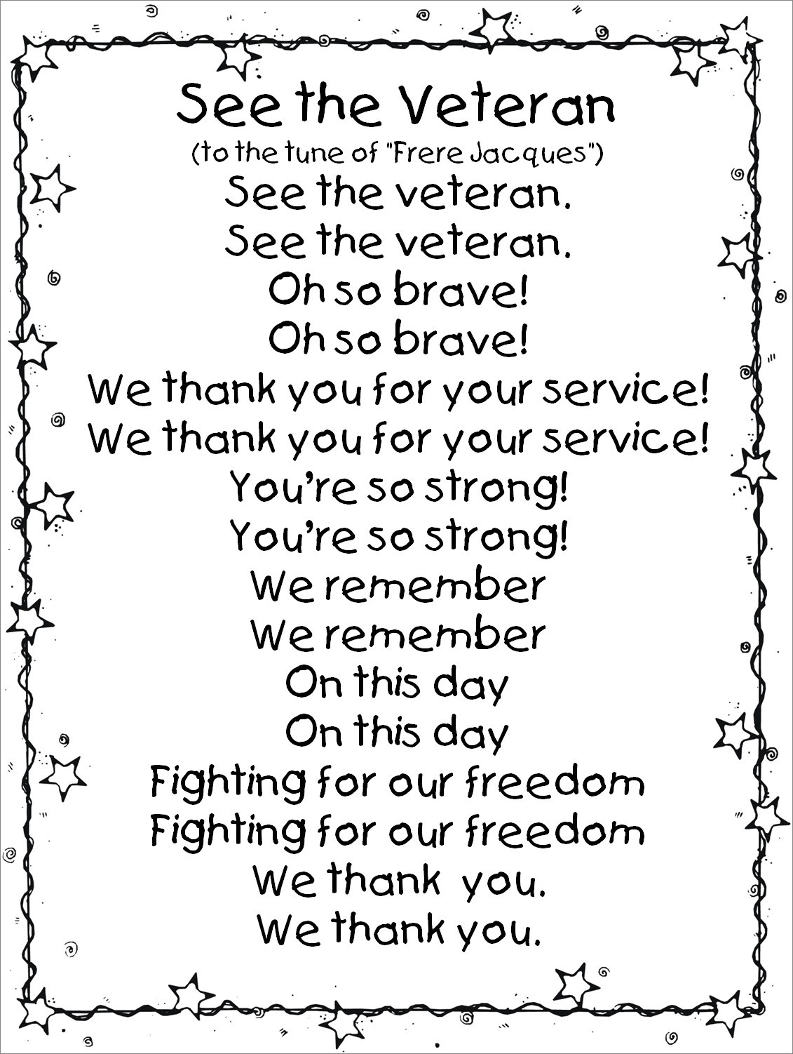 Coloring Pages : Value Veterans Day Coloring Pages Printable Thank - Veterans Day Free Printable Cards