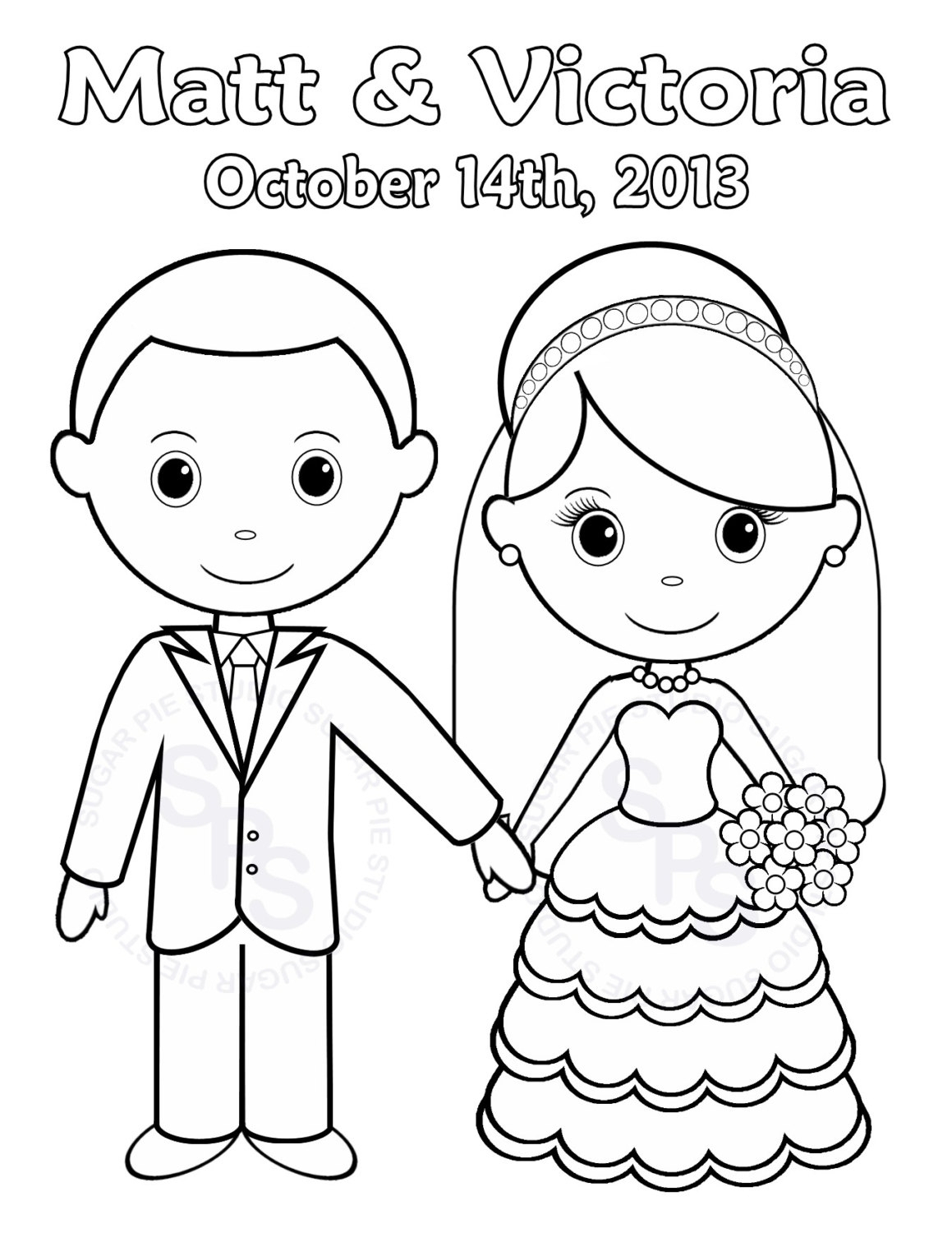 Coloring Pages : Zoloftonline Buy Info Coloring Page Weddingok Pages - Free Printable Personalized Wedding Coloring Book