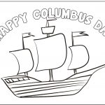 Columbus Day Coloring Page   Free Printable Christopher Columbus Coloring Pages