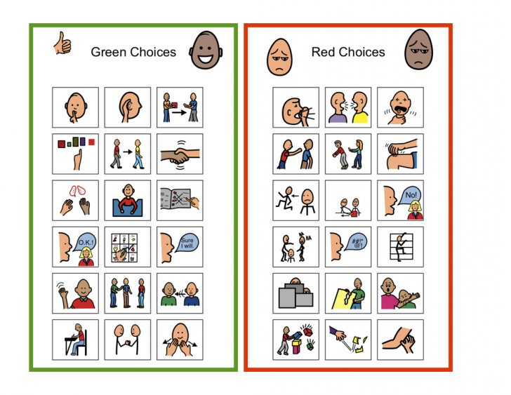 Free Printable Picture Communication Symbols