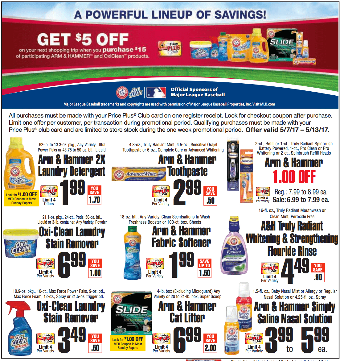 Confirmed! 5 Better Than Free Arm & Hammer Laundry Care Items At - Free Printable Arm And Hammer Coupons