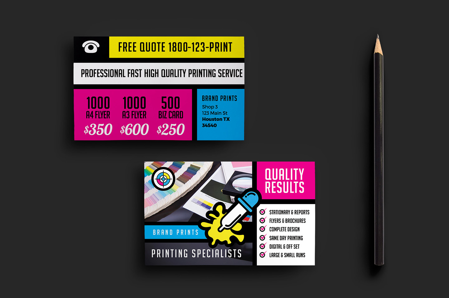 Cool Print Business Cards For Free Photos Card Ideas On Free - Free Printable Business Flyers