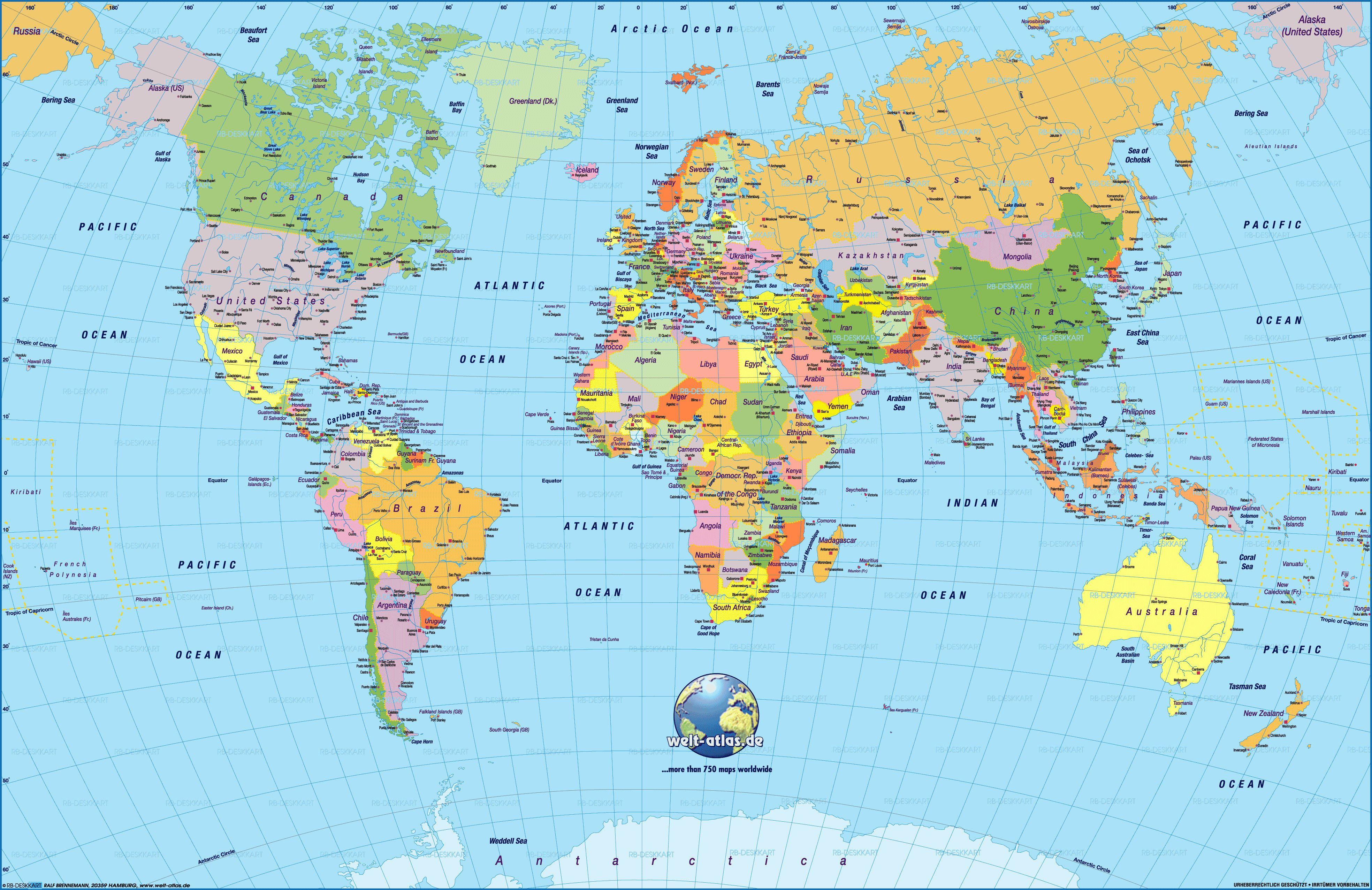 Cool World Map Pdf 2 | Maps | Pinterest | Free Printable World Map - Free Printable World Map Pdf