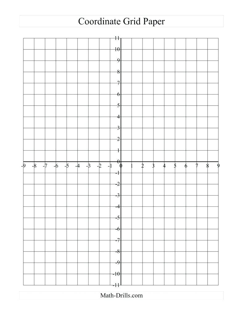 Coordinate Graphing Worksheets Math Graph Paper Coordinate Plane - Free Printable Coordinate Plane Pictures