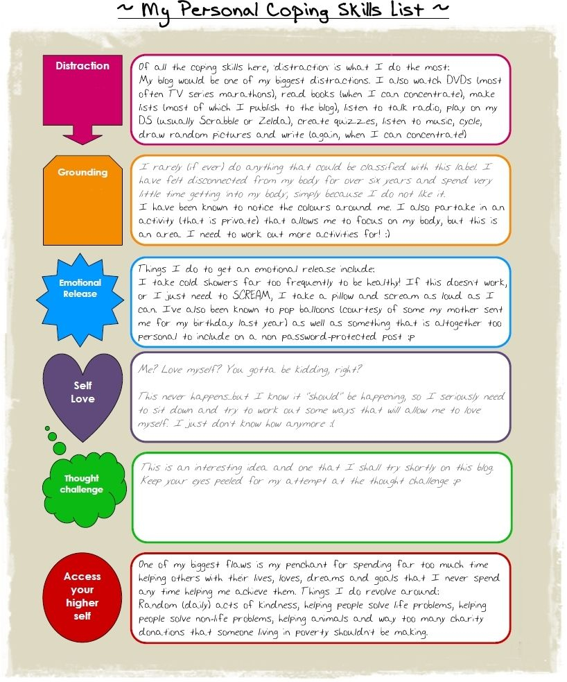 Coping Skills | Positive Behavior Supports | Pinterest | Coping - Free Printable Coping Skills Worksheets