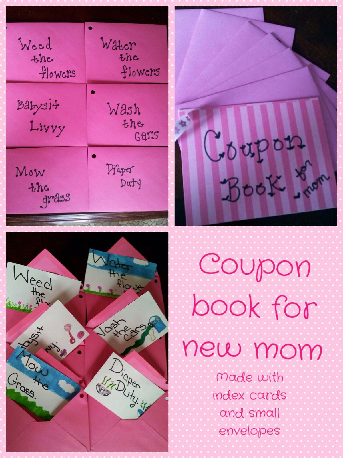 Coupon Book For New Mom | Baby Shower | Christmas Mom, New Moms - Free Printable Coupons For Pampers Pull Ups