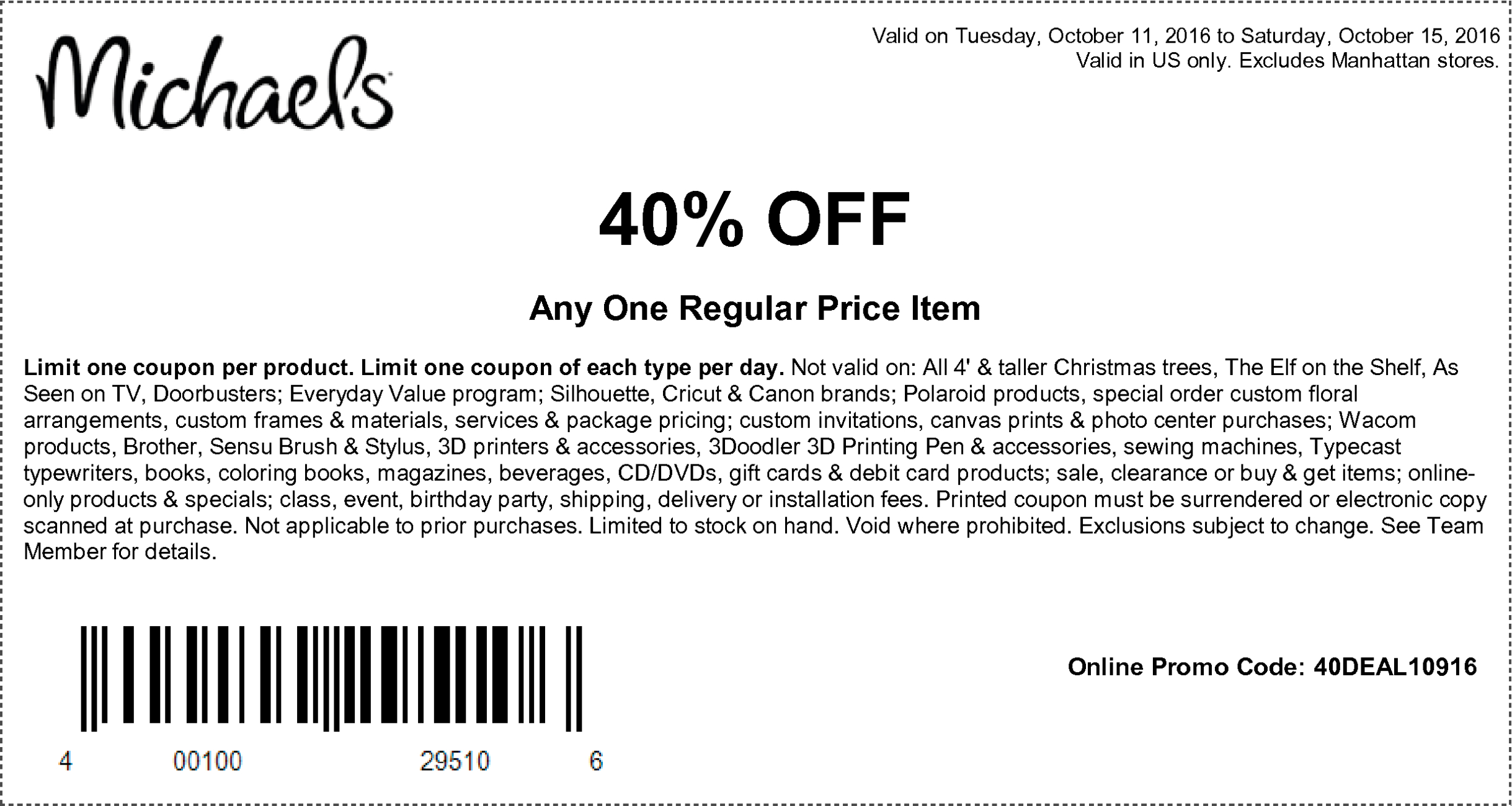 Coupons At Michaels | Coupons | Pinterest | Michaels Coupon, Coupons - Free Printable Michaels Coupons