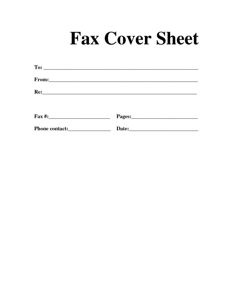 Cover Letter Template For Fax #cover #coverlettertemplate #letter - Free Printable Fax Cover Sheet