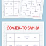 Čovjek To Sam Ja Bingo | Alati U Nastavi | Bingo, Bingo Cards, Math   Fraction Bingo Cards Printable Free