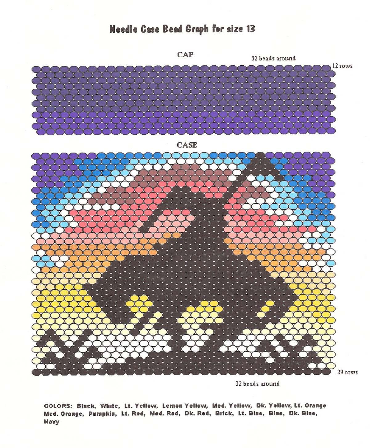 Craft Supplies, Free Beading Patterns. Earth Mother Crafts - Free Printable Beading Patterns