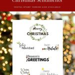 Create Your Own Free Printable Christmas Cards – Festival Collections – Create Your Own Free Printable Christmas Cards