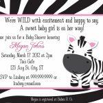 Creative Free Printable Animal Print Birthday Invitations   Free Printable Animal Print Birthday Invitations