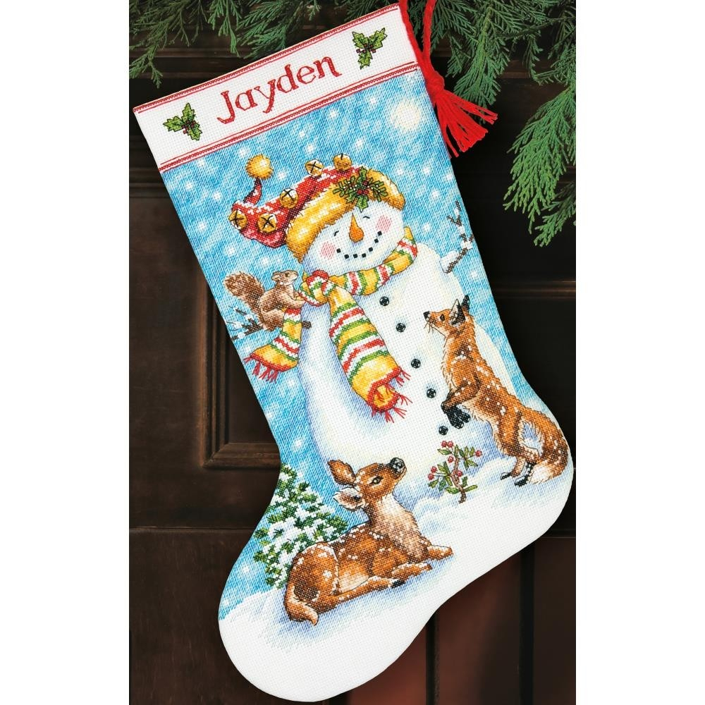 Cross Stitch Christmas Stocking Kits | Merrystockings - Free Printable Cross Stitch Christmas Stocking Patterns