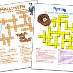Crossword Puzzle Maker | World Famous From The Teacher's Corner   Crossword Maker Free And Printable