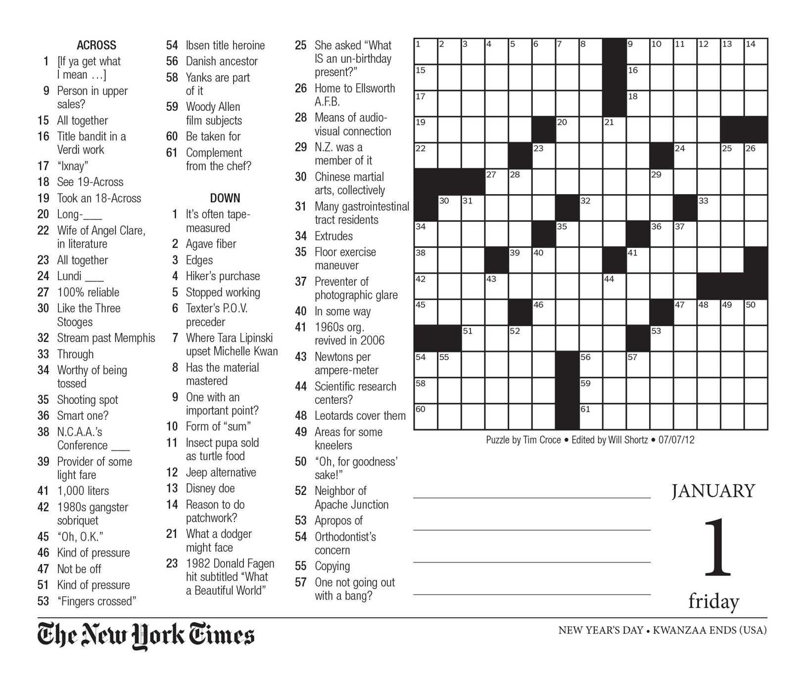 Crossword Puzzle Printable New York Times 81Eu Xyuwbl ~ Themarketonholly - New York Times Crossword Printable Free