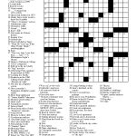 Crosswords Easy Crossword Puzzle Printable With Answers – Free Printable Easy Crossword Puzzles
