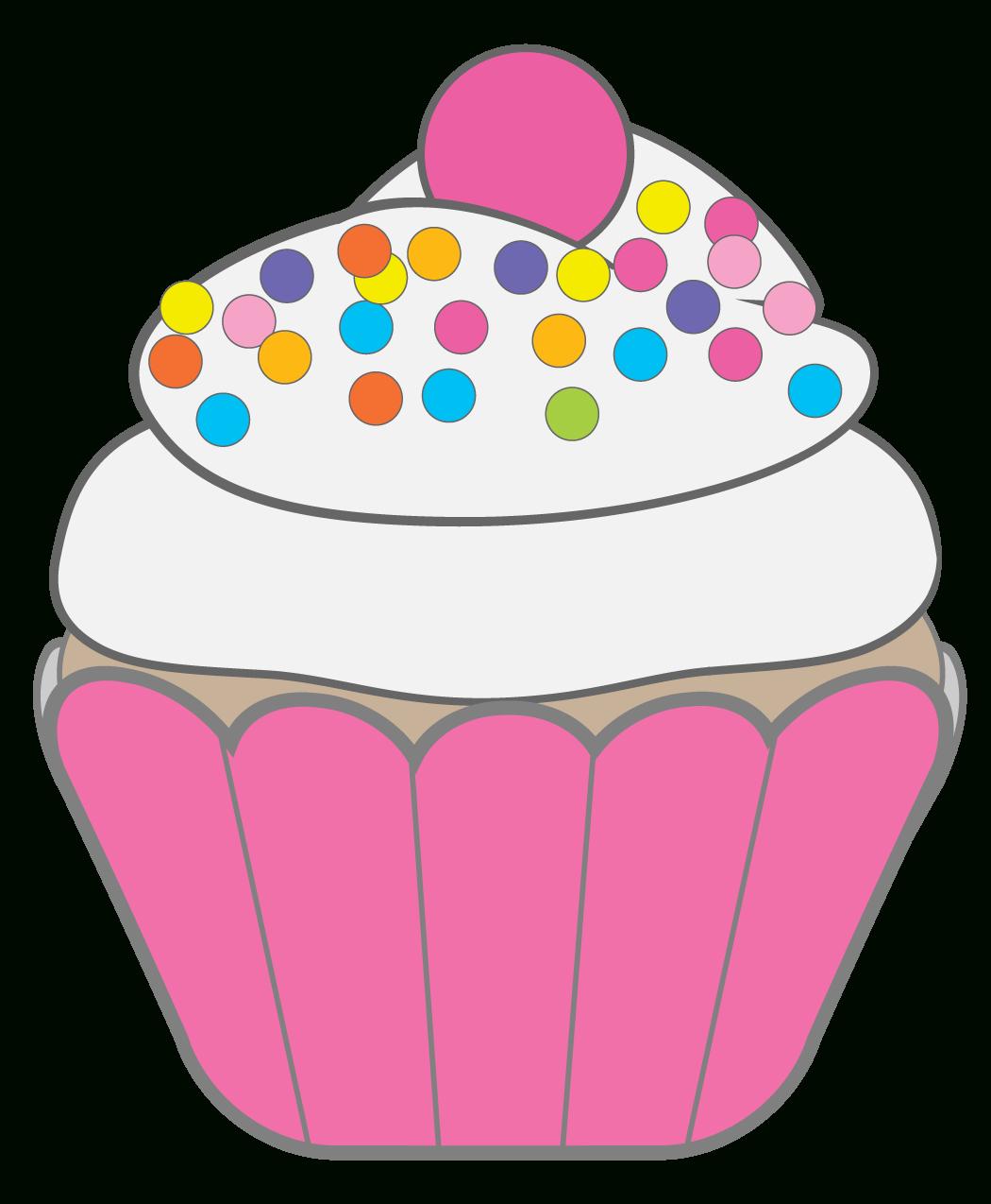 Cupcakes / Muffins   Cupcakes   Birthday Cake Clip Art, Cupcake - Free Printable Cupcake Clipart